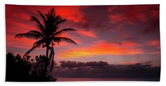 Oceanfront Sunrise Beach Towel