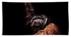 Orangutan Beach Sheet by Martin Newman