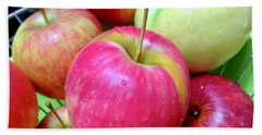Organic Apples Beach Towel