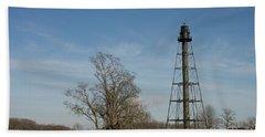 Reedy Island Lighthouse Beach Sheet