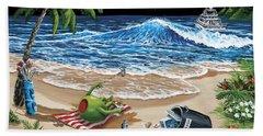Sand Castle Beach Towels