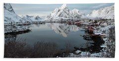 Beach Sheet featuring the photograph Reine, Lofoten 4 by Dubi Roman