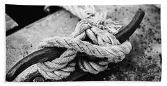 Rope On Cleat Beach Towel