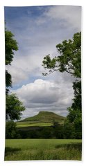 Roseberry Topping Beach Sheet by Gary Eason