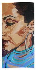 Sade Adu Beach Towel