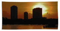 Beach Sheet featuring the photograph 2- Singer Island by Joseph Keane