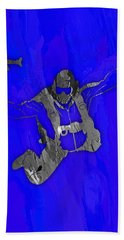 Skydiving Collection Beach Towel