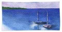 2 Still Boats Beach Sheet