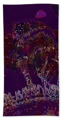 Beach Sheet featuring the digital art Sun Flower Hummel Insect Summer  by PixBreak Art