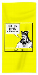 Sun Tzu Beach Towel