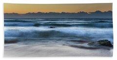 Sunrise By The Sea Beach Towel