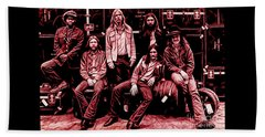 The Allman Brothers Collection Beach Sheet
