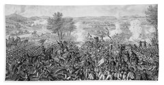 The Battle Of Gettysburg Beach Towel