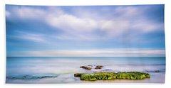 The Calm Sea. Beach Towel