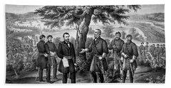 The Surrender Of General Lee Beach Towel