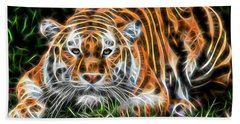 Tiger Collection Beach Towel by Marvin Blaine