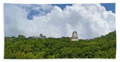Tikal, Guatemala Beach Towel by Marius Sipa