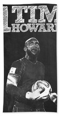 Tim Howard Beach Towel