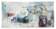Tower Bridge Beach Sheet