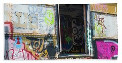 Beach Towel featuring the photograph Train Art by Dart and Suze Humeston