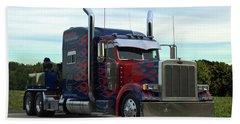 Transformers Optimus Prime Tow Truck Beach Sheet