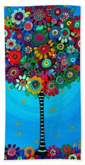 Tree Of Life Beach Towel