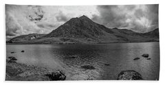 Tryfan Mountain Beach Towel