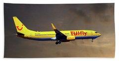 Tui Fly Boeing 737-8k5 Beach Towel