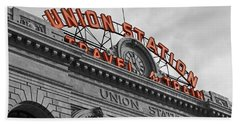 Union Station - Denver  Beach Towel by Mountain Dreams