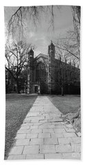 University Of Michigan Law Quad Beach Sheet