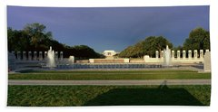 U.s. World War II Memorial Beach Towel