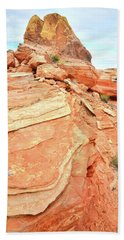 Valley Of Fire High Country Beach Towel