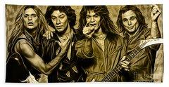 Van Halen Collection Beach Towel