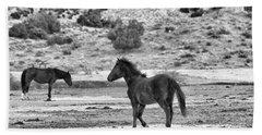 Virginia Range Mustangs Beach Sheet