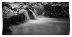 Waterfall  Beach Sheet by Scott Meyer