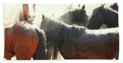 Wild Horses - Australian Brumbies 3 Beach Towel