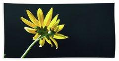 Wild Sunflower Stony Brook New York  Beach Towel