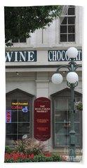 Wine And Chocolate Beach Sheet