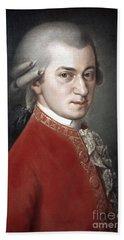 Wolfgang Amadeus Mozart Beach Sheet