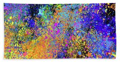 Abstract Composition Beach Towel