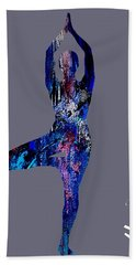 Yoga Collection Beach Sheet by Marvin Blaine