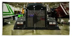 Beach Sheet featuring the photograph 2000 Kenworth W900 by Randy Scherkenbach