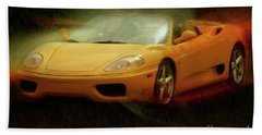 2003 Ferrari 360f1 Beach Towel