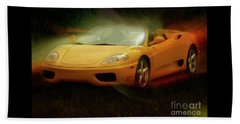 2003 Ferrari 360f1 Beach Sheet