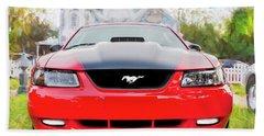 2003 Ford Cobra Gt Mustang  Beach Towel