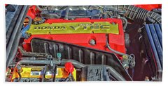2006 Honda S2000 Engine Beach Towel