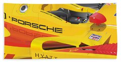 2008 Rs Spyder Illustration Beach Sheet