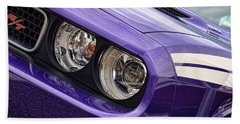 2011 Dodge Challenger Rt Beach Towel by Gordon Dean II