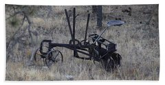 Old Farm Implement Lake George Co Beach Sheet