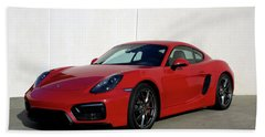 2015 Porsche Cayman Gts Beach Towel